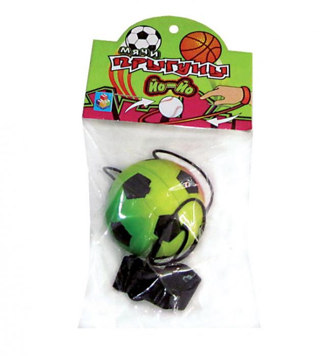 Игрушка 1toy Мячик Йо-Йо Т52788