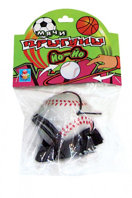Игрушка 1toy Мячик Йо-Йо Т52789