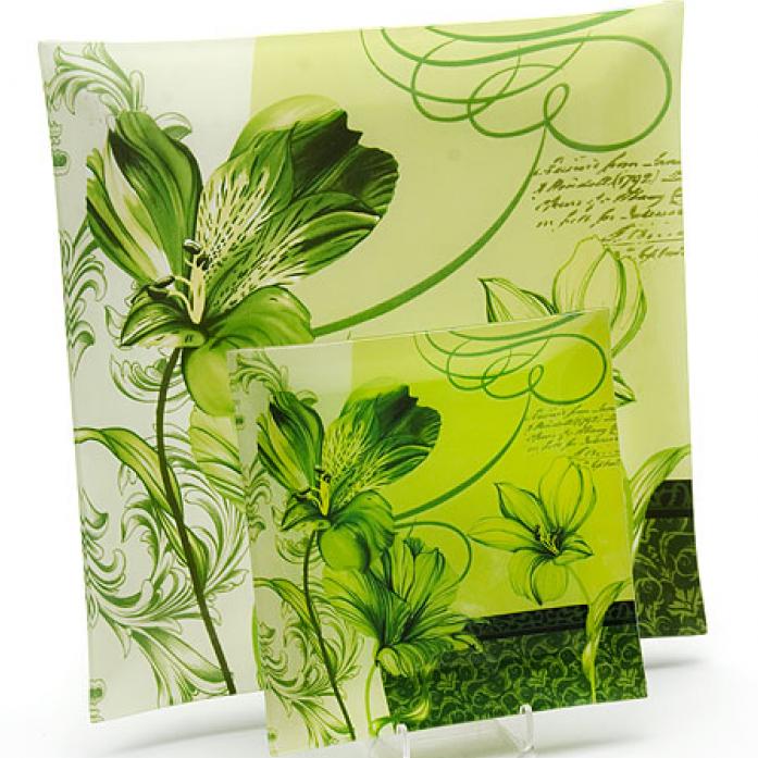 Набор тарелок LORAINE LR 20682-3 зеленые