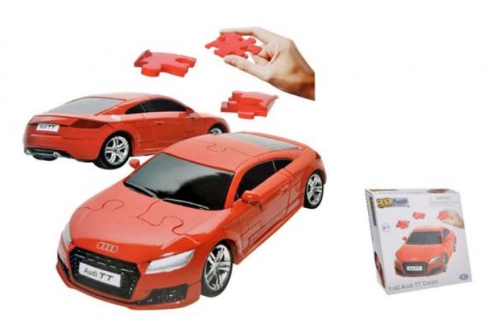 3D Puzzle Happy Well 1: 43 Audi TT Coupe Non Assemble 57122