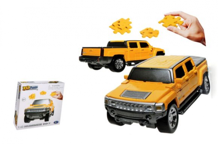3D Puzzle Happy Well 1: 43 Hummer H3T Non Assemble 57126