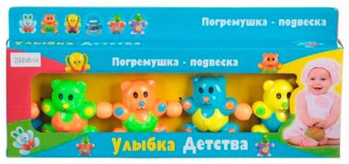 Игрушка-подвеска Zhorya Погремушка растяжка 40см Х76002