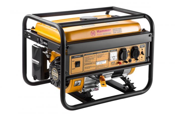 Бензиновый генератор Hammer GNR 3000 LE