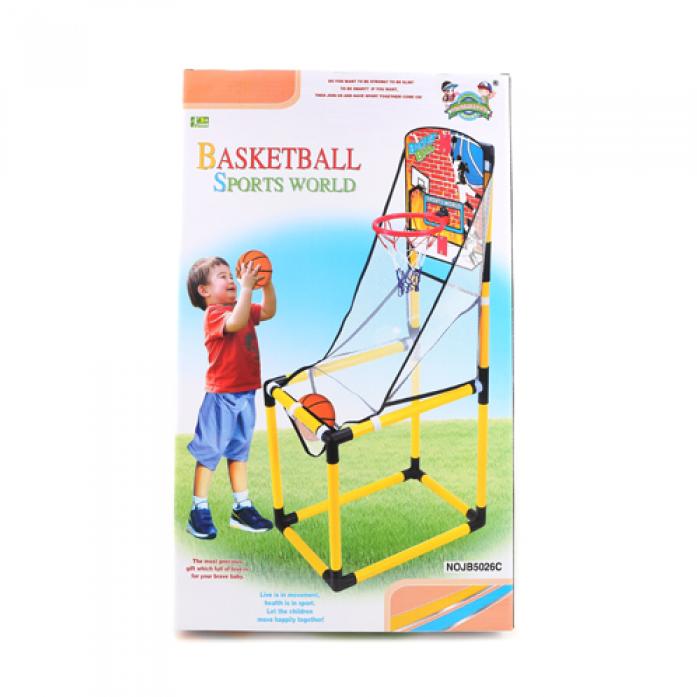 Набор 1toy Баскетбольная стойка Т58539