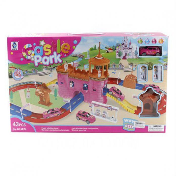 Игровой набор Shantou Gepai Замок и трек 43 детали 5599-45A