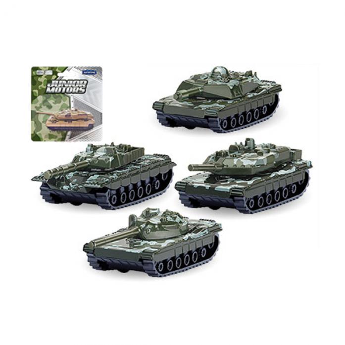 Машинка металлическая Autotime Танк Battle Defender 33942