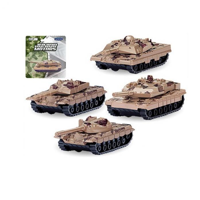 Машинка металлическая Autotime Танк Combat Defender 33943