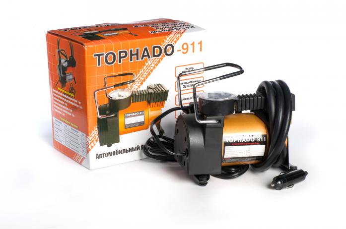 Компрессор автомобильный Tornado 911 R