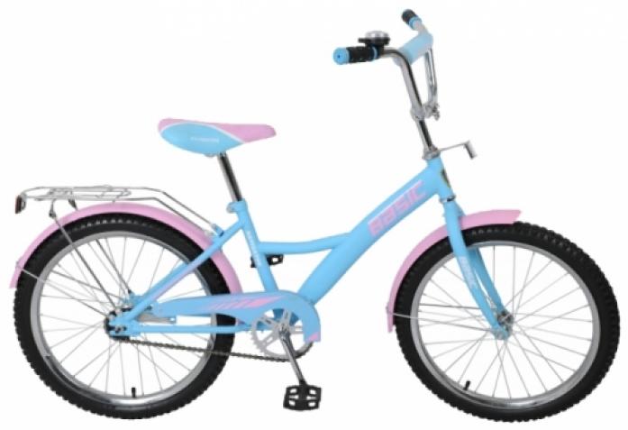 Велосипед Navigator 20 Basic KITE-тип голубо/розовый