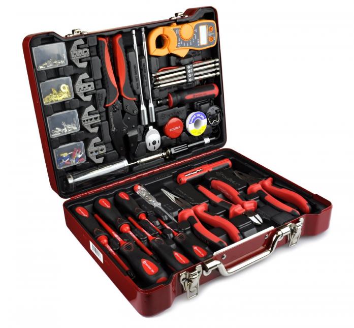 Набор электроэнергетика Bovidix 380413904 139 предметов