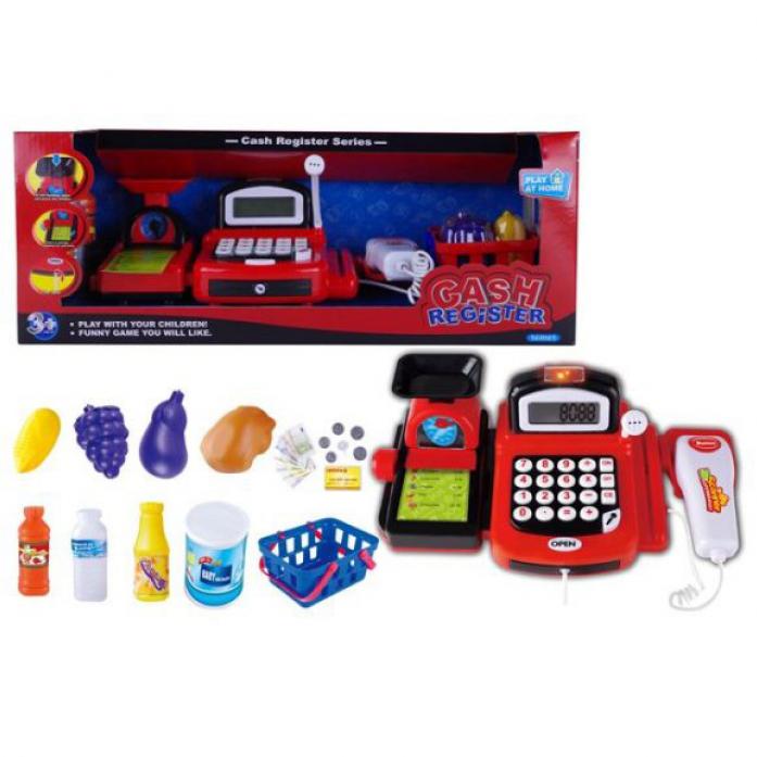 Игровой набор Shantou Gepai Касса с весами, сканером и микрофоном Y19819002