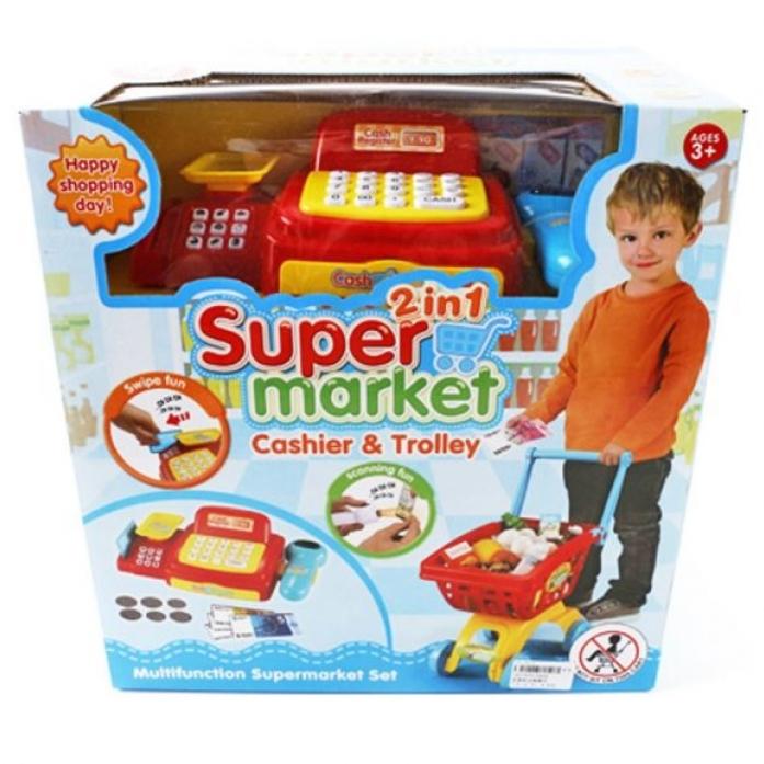 Игровой набор Shantou Gepai Супермаркет 6809