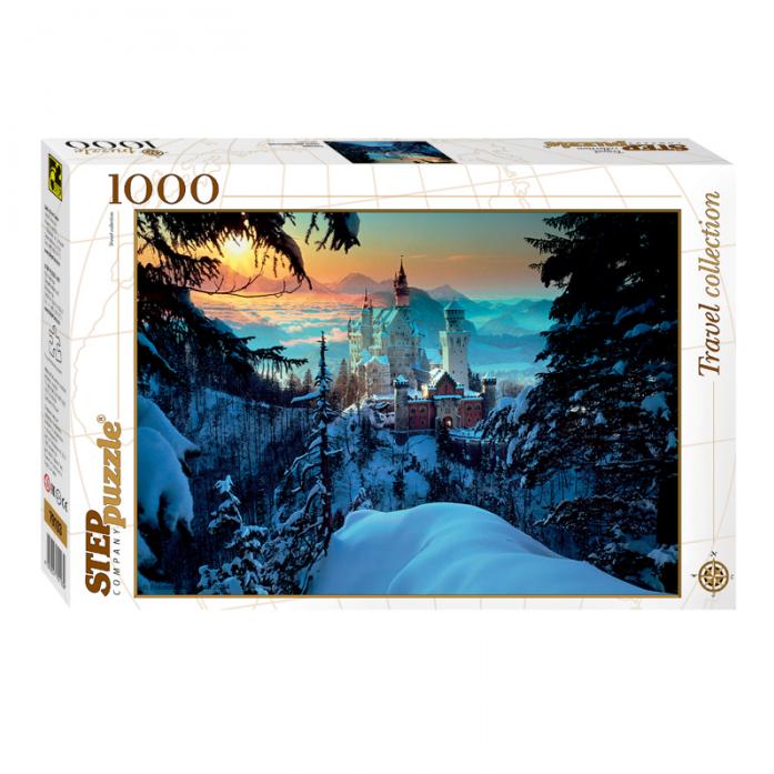 Пазл Степ Бавария Замок Нойшванштайн 1000 элементов 79103