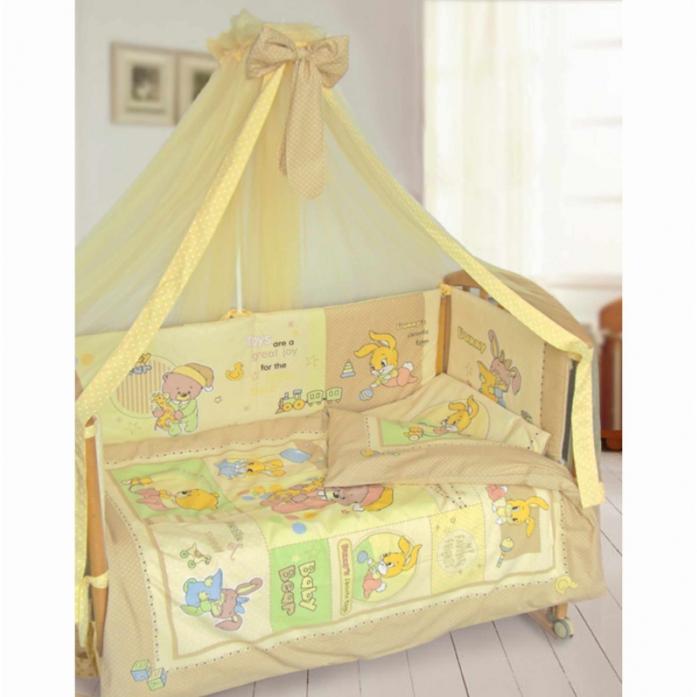 Комплект в кроватку Kids comfort 043-1 Дрема Панно бежевый