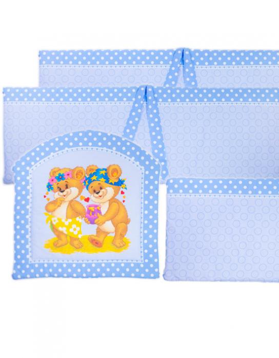 Борт Kids comfort 003-16 maxi френдс голубой