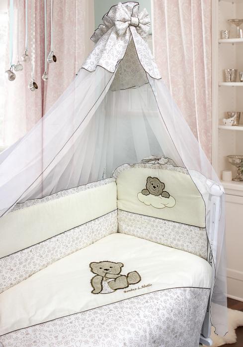 Комплект в кроватку Bombus Мишка в штанишках 5673 бежевый