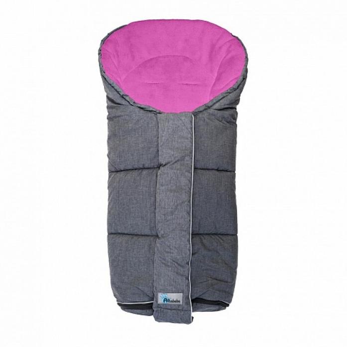 Конверт ALTABEBE AL2277P-45 Alpin Stroller dark grey/rose