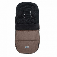 Зимний конверт ALTABEBE MT2280-LP Lambskin-Bugaboo Footmuff Brown 75
