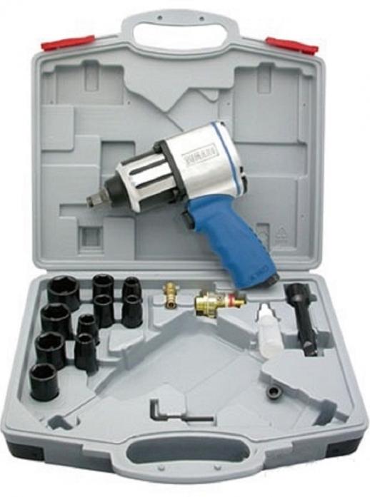 Гайковерт пневматический + набор ударных головок 8095020 SUMAKE ST-M3007K