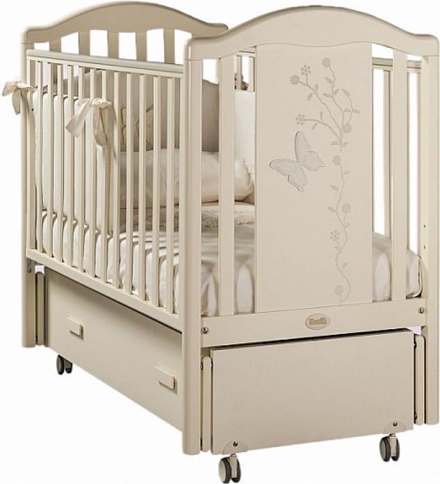 Кровать Feretti Privilege Swing слоновая кость L-PRI-02-SW