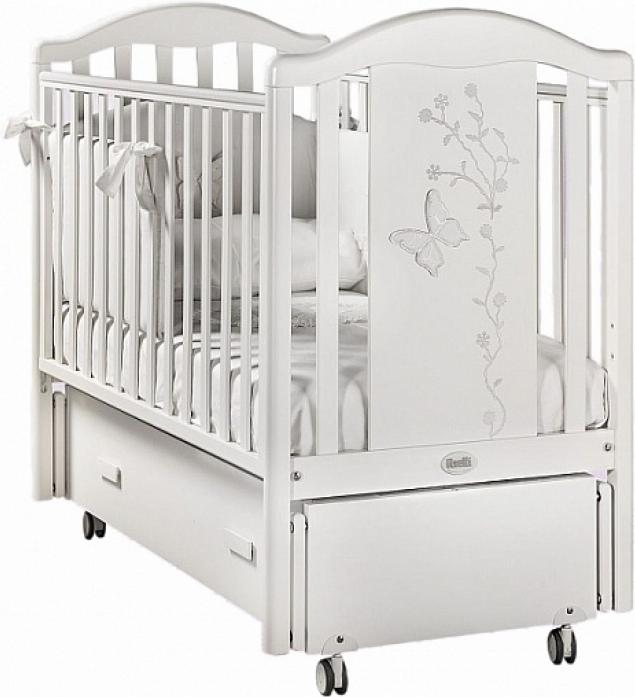 Кровать Feretti Privilege Swing белая L-PRI-01SW