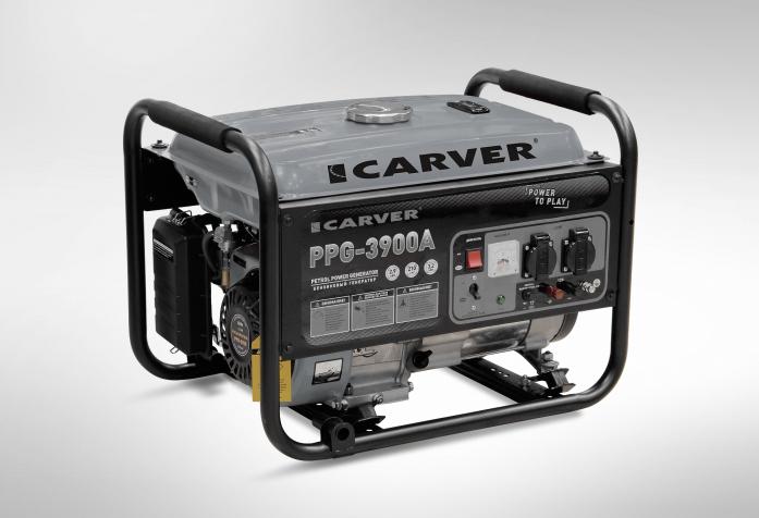 Бензиновый генератор CARVER PPG-3900А 01.020.00012