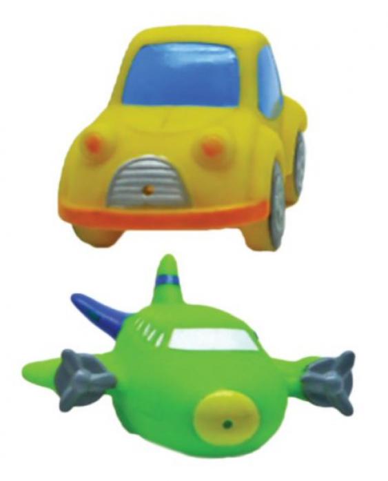 """Игрушка для ванной Жирафики """"Машинка и самолет"""" 681266"""