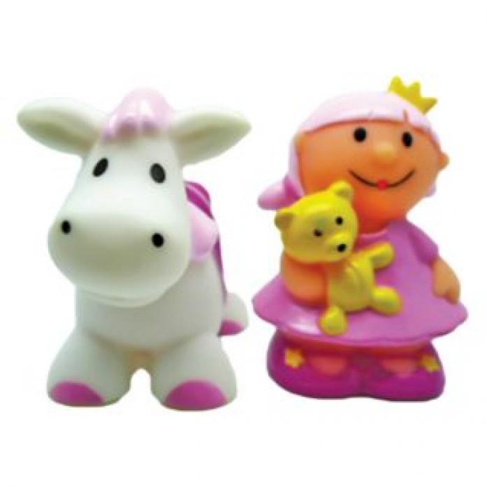 """Игрушка для ванной Жирафики """"Принцесса и лошадка"""""""" 681277"""