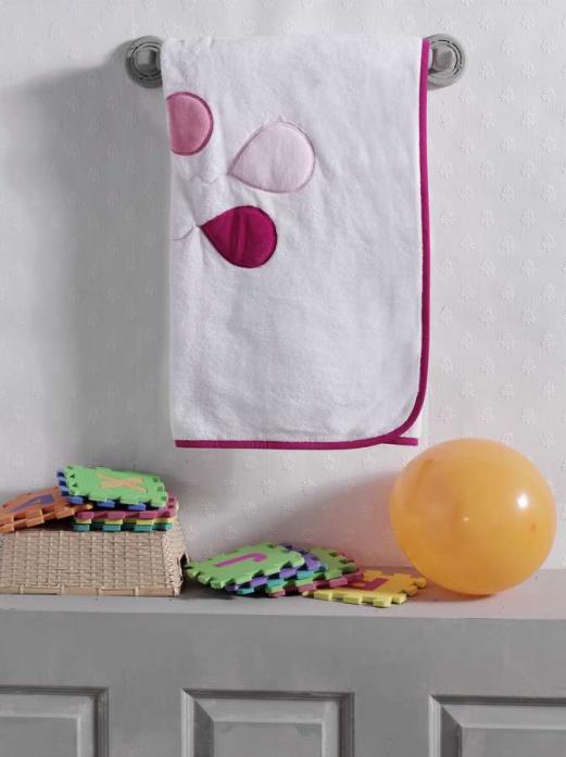 Плед велсофт Kidboo Happy Birthday Pink