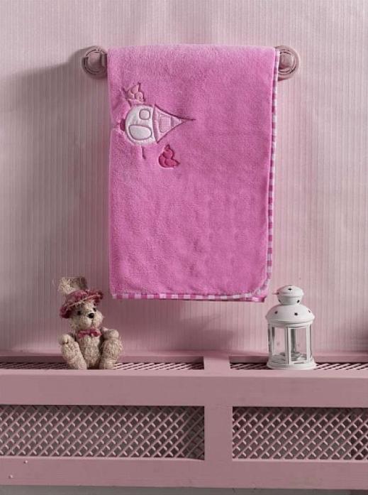 Плед велсофт Kidboo Lovely Birds розовый