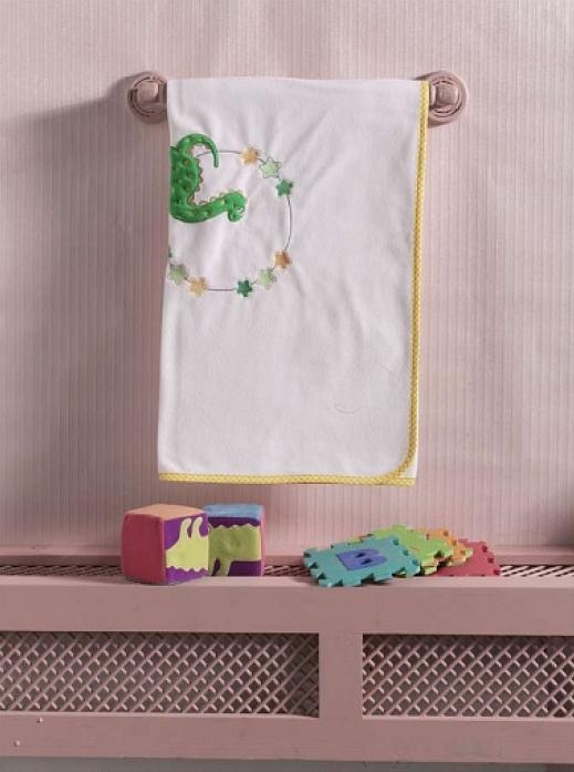 Плед флисовый Kidboo Baby Dinos