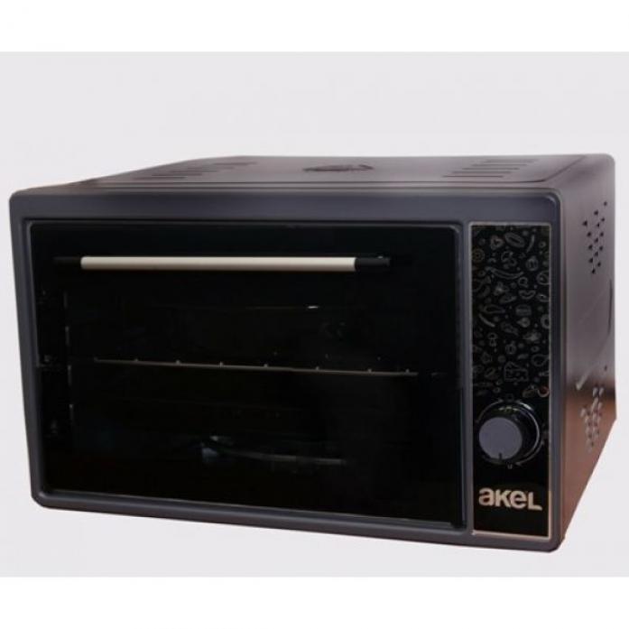 Мини-печь AKEL AF-371 черная