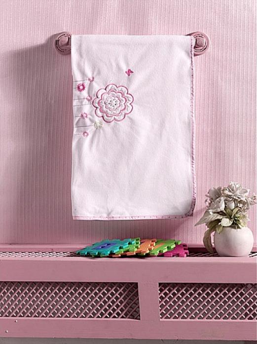Плед флисовый Kidboo Sweet Flowers