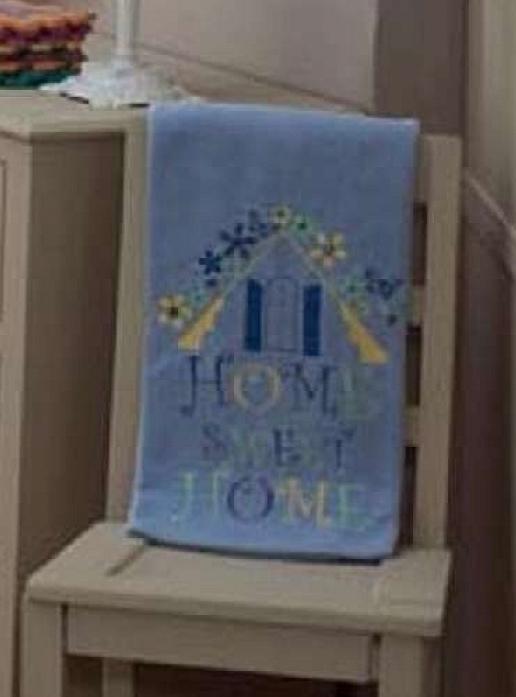 Плед флисовый Kidboo Sweet Home Blue