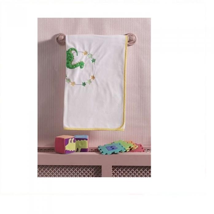 Плед хлопок/велюр Kidboo Baby Dinos