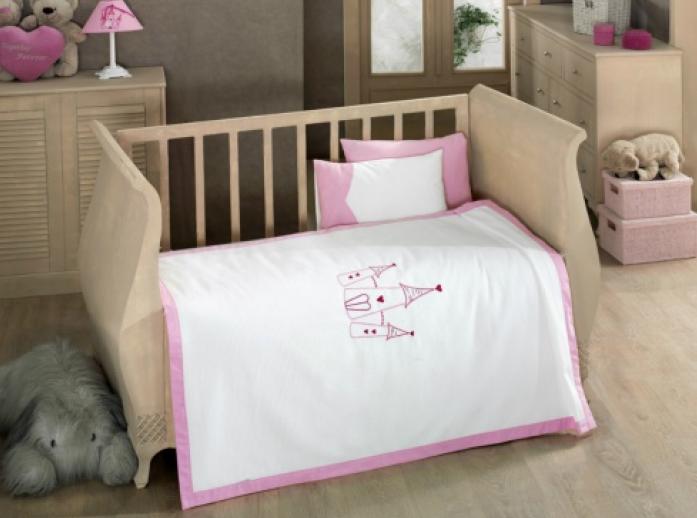 Комплект в кроватку Kidboo Little Princess 4 пр