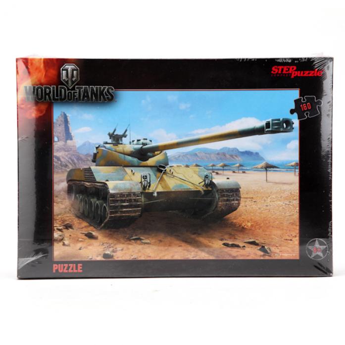 Пазлы Степ World of Tanks 160 элементов 94031