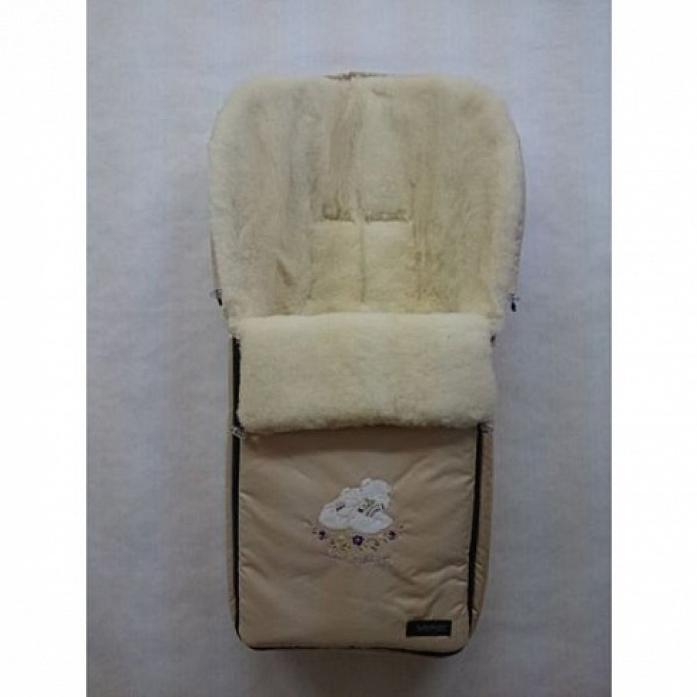 Спальный мешок в коляску Womar AURORA 1/1 бежевый