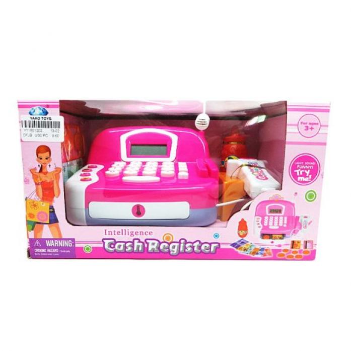 Игровой набор Yako Касса со сканером и микрофоном Y11801202