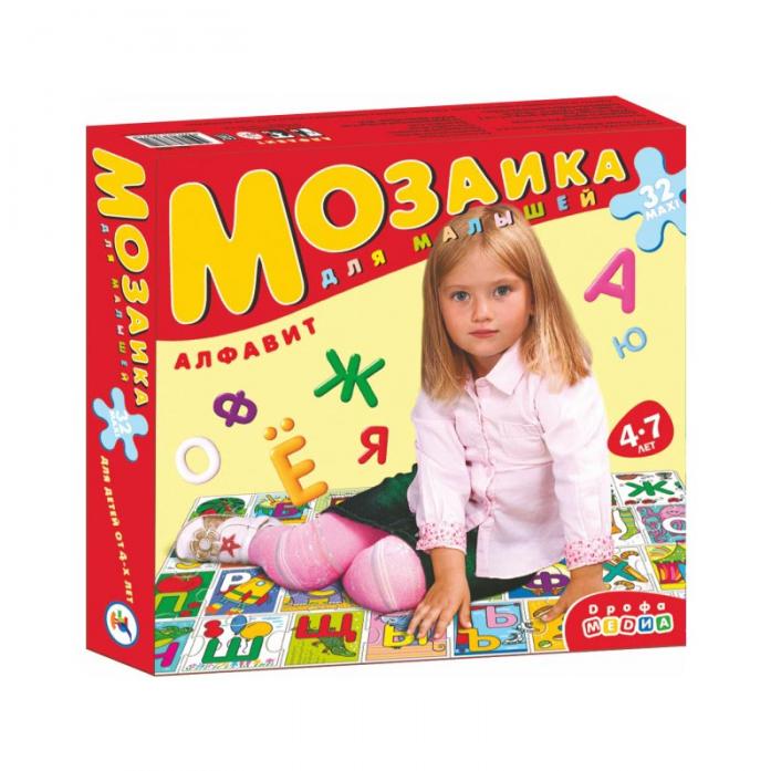 Мозаика для малышей Дрофа-Медиа Алфавит 3073