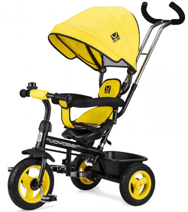 Велосипед двухколесный Small Rider Voyager Желтый
