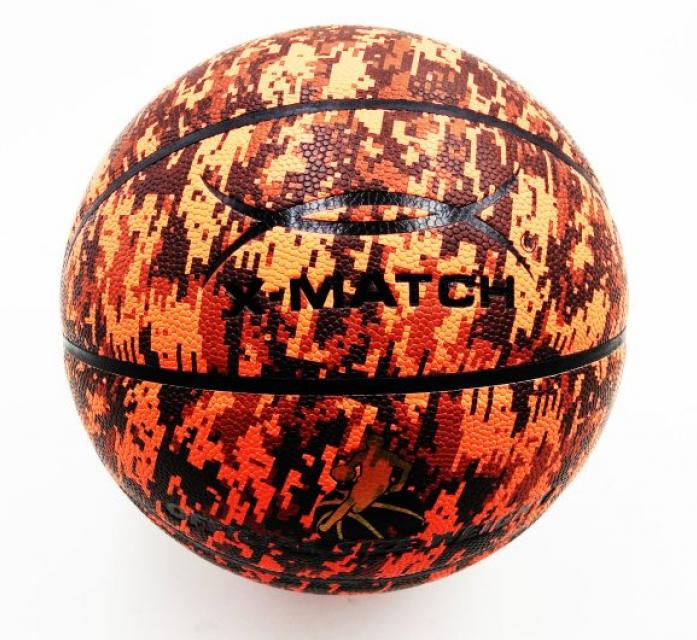 Мяч X-Match Баскетбольный, ламинированный PU, размер 7 56393