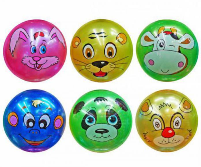 Мяч Shantou Gepai Зоопарк 22 см 635186