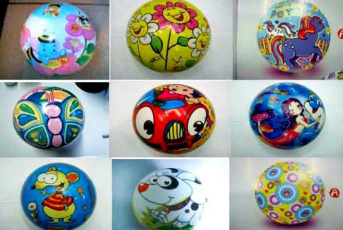 Мяч Shantou Gepai Забава 20 см 63663