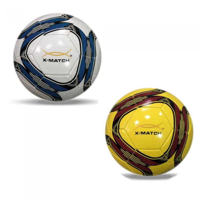 Мяч X-Match Футбольный 1 слой PVC 56384