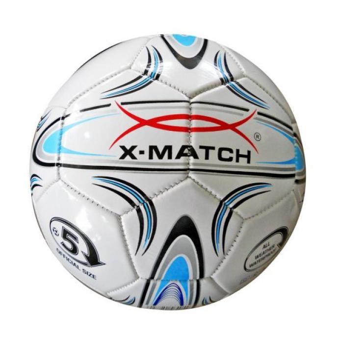 Мяч X-Match Футбольный 1 слой PVC 56405
