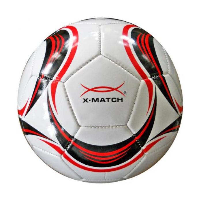 Мяч X-Match Футбольный 1 слой PVC 56407
