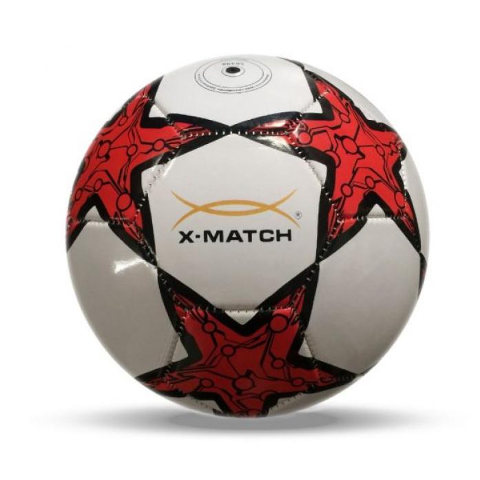 Мяч X-Match Футбольный 2 слоя PVC 56398