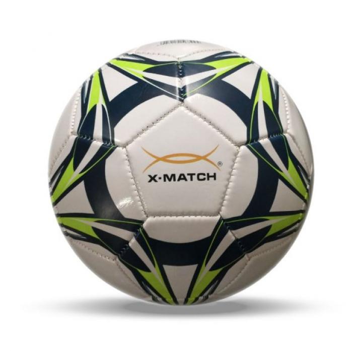 Мяч X-Match Футбольный 2 слоя PVC 56399