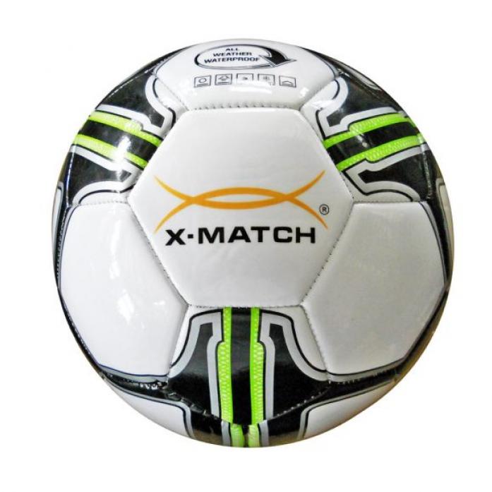 Мяч X-Match Футбольный 2 слоя PVC 56406